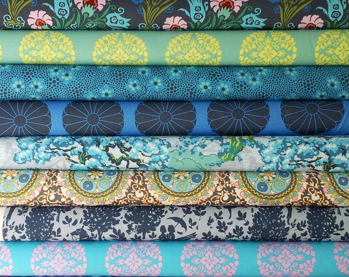 Cameo Amy Butler fabric bundle -  Enchanted palette - Fat quarter set of 12