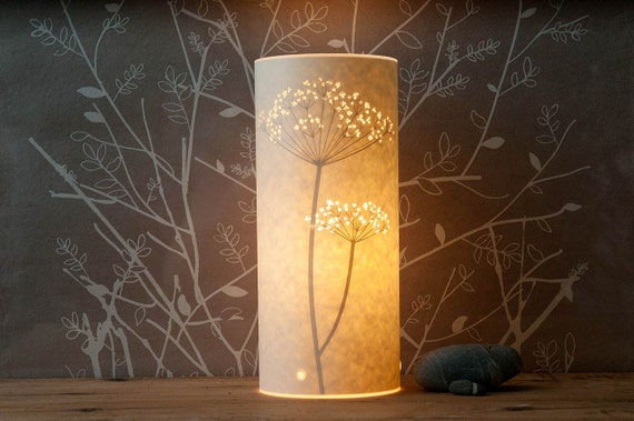 Small Cow Parsley Table Lamp