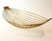 Mid-Century Modern Carl Aubock Brass Wire Fruit Basket 1950's from ModernSpecific on Etsy