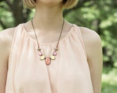 Color candy necklace - Coral jewelry (BN019)