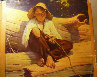 The Adventures of Huckleberry Finn - 1952 Illustrated Edition