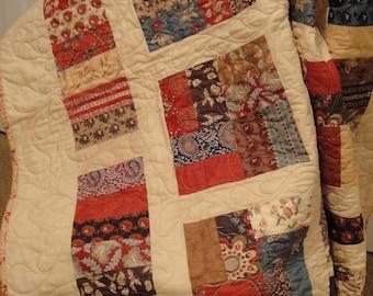 Lap Size Handmade Quilt