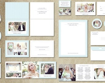 Marketing Set Templates for Wedding Photographers - Photography Branding Suite- Pricing Guides - Price List - Postcard