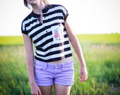 MERIWEATHER /// Nautical Top