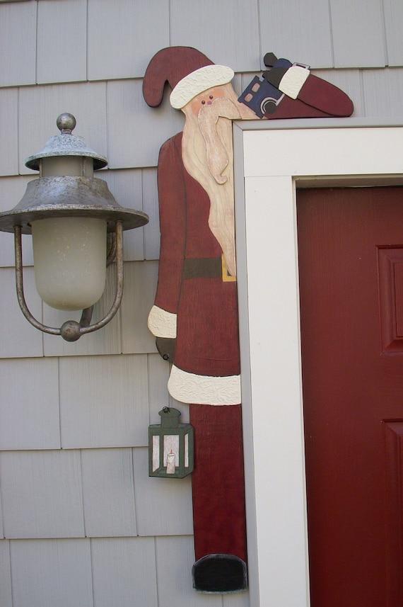 DEBI'S DOINGS PATTERN - Santa Door Hugger