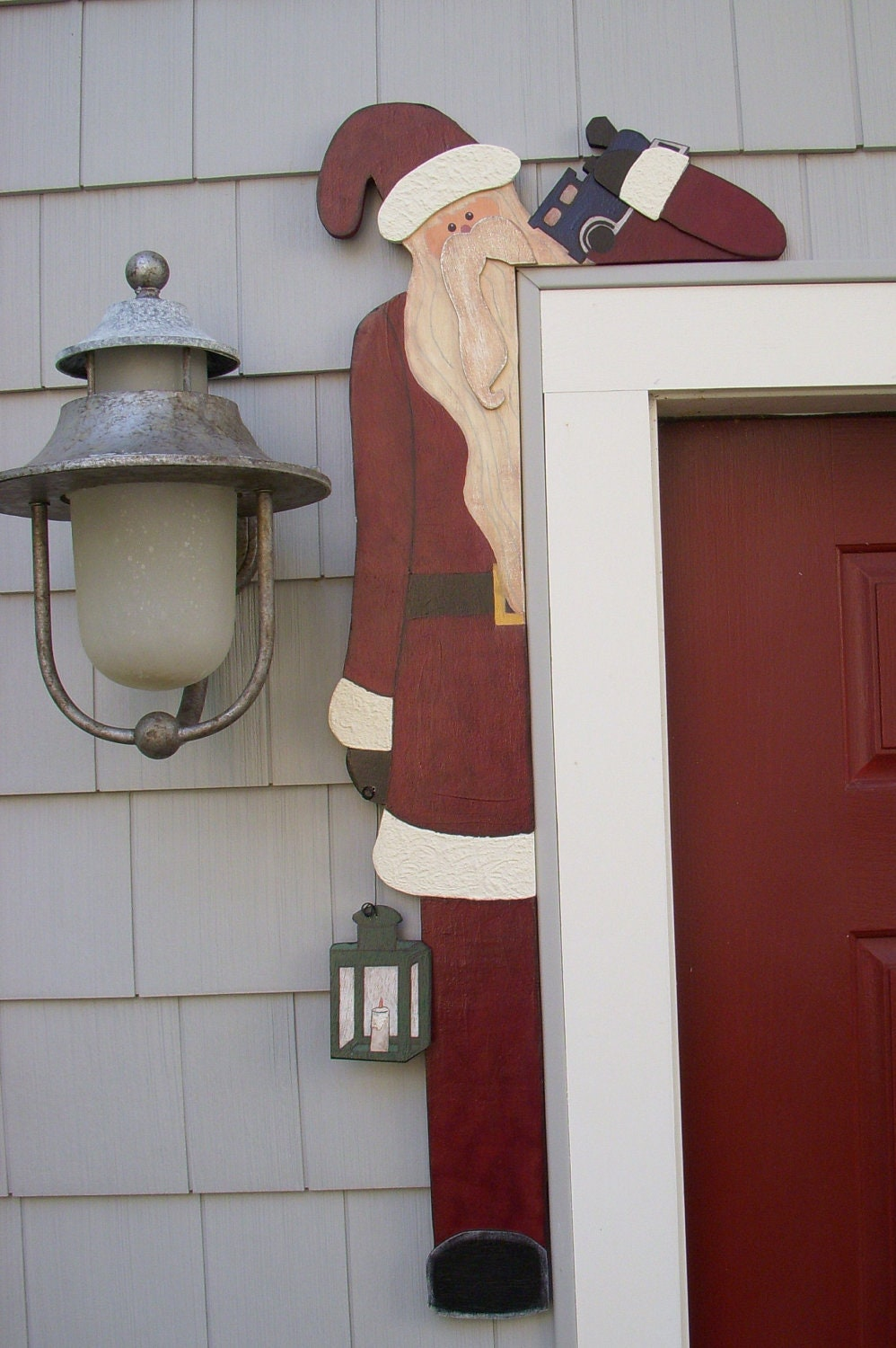 wooden craft ideas patterns debi s doings pattern santa door hugger 5767