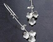 plum blossom earrings