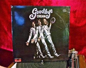 CREAM - Goodbye  -1969 Vintage Vinyl GATEFOLd Record Album...GERMAN PRESSING