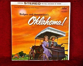OKLAHOMA - Motion Picture Soundtrack - 1962 Vintage Vinyl GATEFOLD Record Album