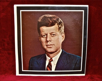JOHN F. KENNEDY - John F. Kennedy 1917-1963 - 1963 Vintage Vinyl Record Album