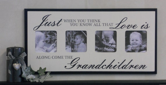 Grandparents Gift For Grandma Amp Grandpa Picture Frame Gifts