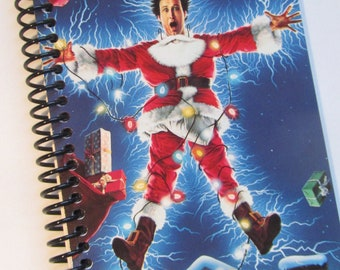 National Lampoon Christmas Vacation Notebook Made from a VHS tape Chevy Chase