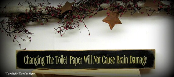 Bathroom Decor, Funny Wooden Sign, Gift for Mom, Bathroom Sign, Humorous Bath Sign, Wood Sign Saying