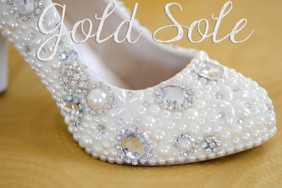 Ready to Ship Wedding Shoes Size 9