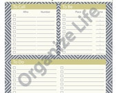 Daily To Do List - Printable PDF - Instant Download
