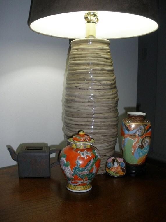 Japanese Ginger Jar  - Vibrant Peacock - Yokoi Sei-Ichi Shoten