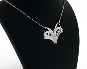 """Necklace """"TOTEM Fox"""" silver"""