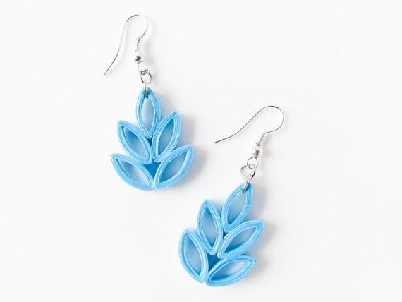 paper earrings handmade paper jewellery tutorial - photo #46