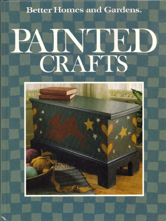 Vintage Diy Painted Crafts Instruction Book By Better Homes And Gardens Pss 1309 From