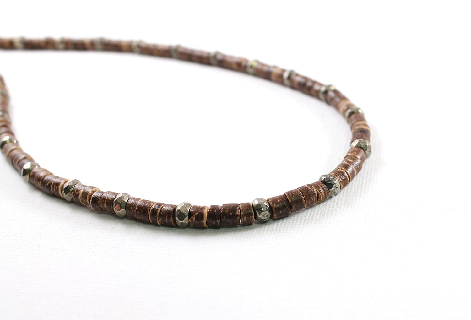 coconut shell mens jewelry coconut necklace for