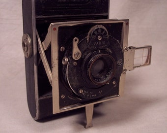 Folding Camera Antique Vertical Certo Dolly 1930s 30s