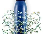 Blossoms - 24 fl. oz aluminum water-bottle by Lisa Rivas