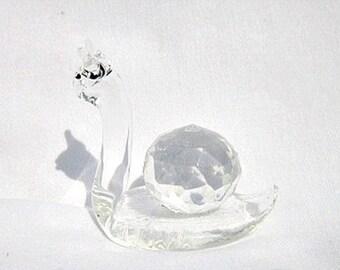 Imitation Swarovski Chrystal Snail. ID 038