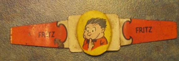 Post Toasties Corn Flakes Fritz Ring Rare Hard To Find 1949