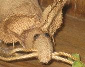 handmade primitive pantry mouse shelf sitter