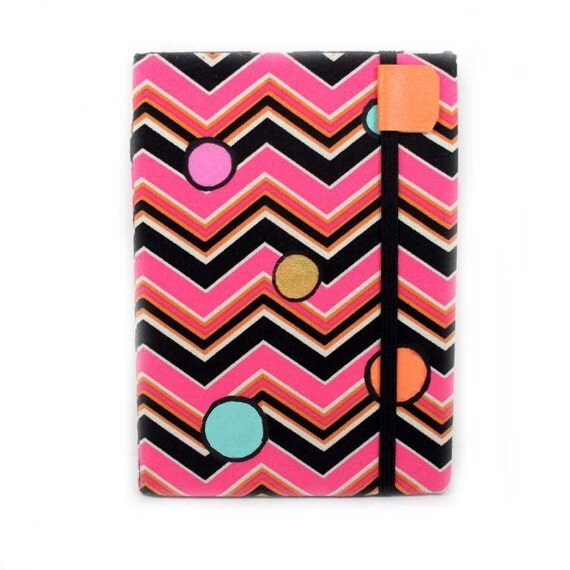Kindle Touch Cover - Chevron Pop - women's cute ereader cover for Paperwhite or Touch