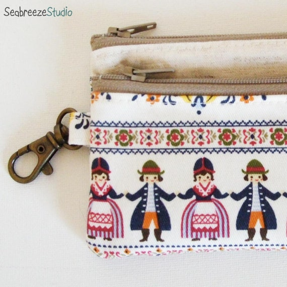 SALE Travel pass case - Folklore