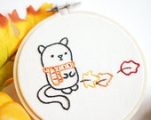I Like Autumn - Fall Favorites Hand Embroidery Pattern