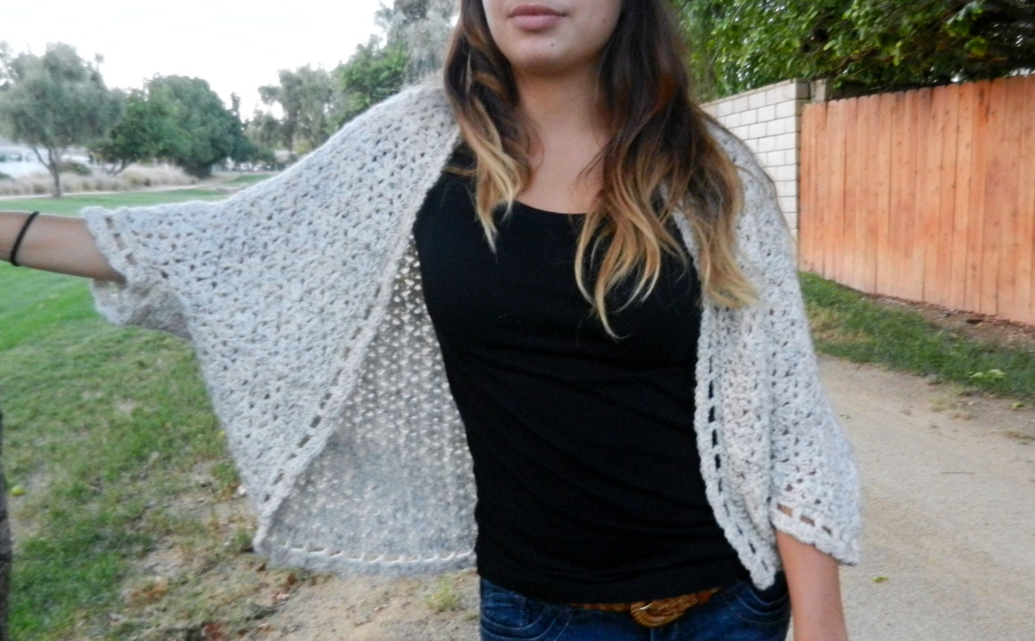 Crochet shrug cardigan pattern the somerset shrug pattern zoom bankloansurffo Choice Image