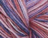Country Berries - Hand Painted Angora Rabbit Superwash Wool Yarn - Worsted - 2 oz.