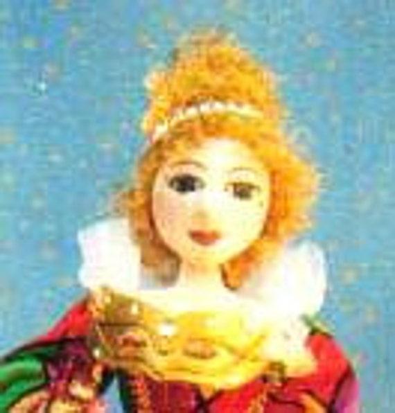 E- Pattern- Commedia D'Arte, ARLECCHINA (Pron- Ar-lek-ina), Maka a Costume doll, PATTERN, Cloth doll Workshop, Cloth Doll Projects, tutorial