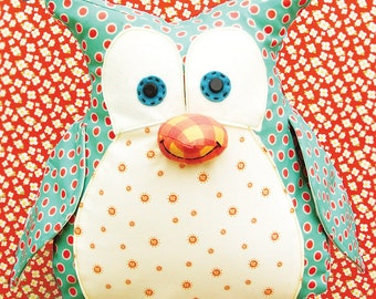 Owl Sewing Pattern - Okey Dokey Owl by Jennifer Jangles