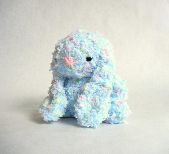 Fluffy Bunny Crochet Plush Toy