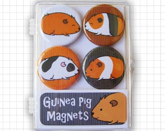 Guinea Pigs Magnet Set