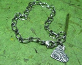 Love Furl - Fine and Sterling Silver Bracelet