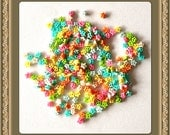 RAEWADOLLY 50pcs Star Button 4mm for Doll clothes, Blythe, Pullip, Dal, Barbie