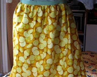 Lemon fresh Hostess Apron