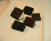 Miniature Leather Books Set of 5