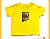Yellow SF MUNI KIDS T Shirt