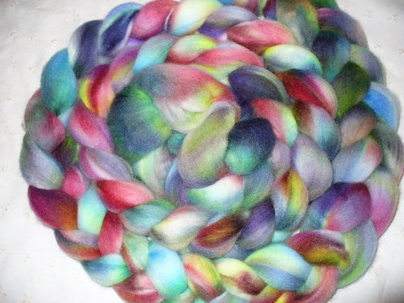 Wool Top Falkland for Hand Spinning or Felting