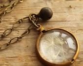 Captured Dandelions Necklace