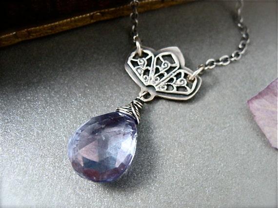 siren's song ... mystic quartz pendant
