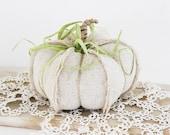 Small Linen Pumpkin