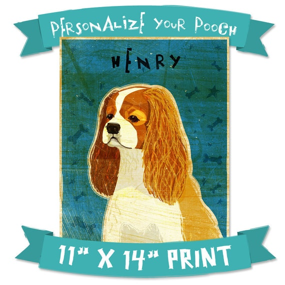 "Mens Personalized Dog Art- Personalize Your Pooch- Dog Art Print 11"" x 14"" Husband Gift- Customizable Dog Wall Art- Custom Pet Art Dog Gifts"