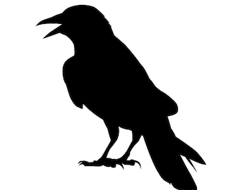 The Raven Wall Decal - As Seen in Country Living Magazine