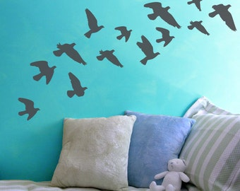 Simple Flock of Doves